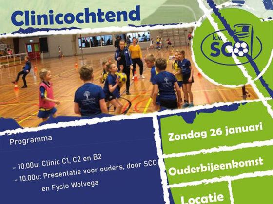 sco clinic 26 oktober in de Steense